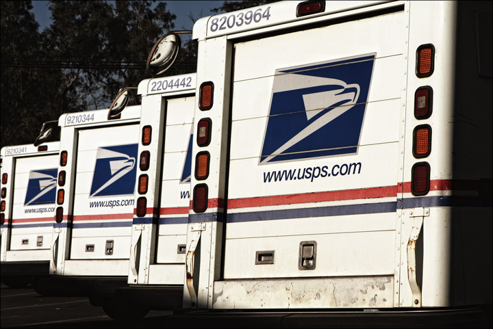 Direct Mail Postal Trucks